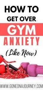 gym anxiety
