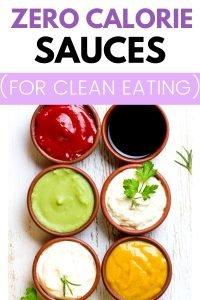 low calorie sauces