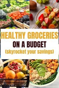 healthy groceries on a budget