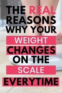 how to weigh yourself on a scale