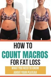 Counting macros for weight loss