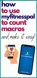 how to use myfitnesspal for macros