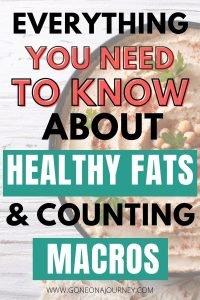 healthy fats list